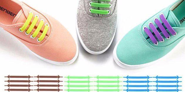 Силиконовые шнурки