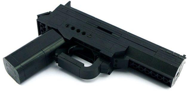 Сборная модель пистолета