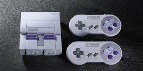 Nintendo анонсировала мини-версию классической приставки SNES с 21 игрой в комплекте
