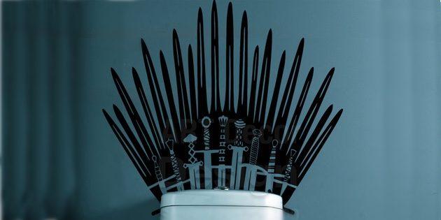 Стикер Железного трона