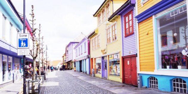 Цветная улица, Ставангер