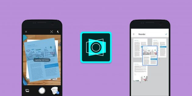Adobe Scan превращает фото документов в интерактивные PDF-файлы