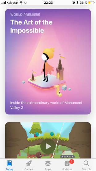 iOS 11: App Store