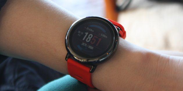 Обзор Xiaomi Amazfit Pace