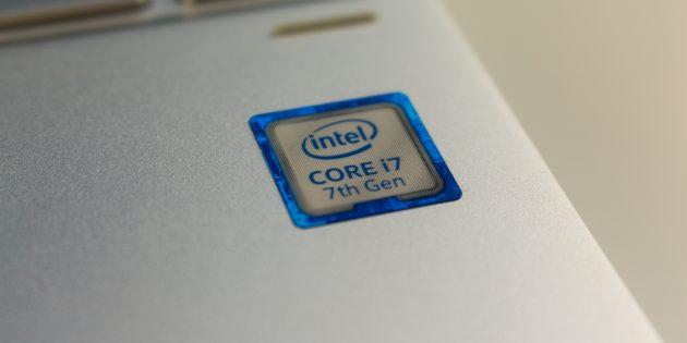 HP Spectre x360: процессор
