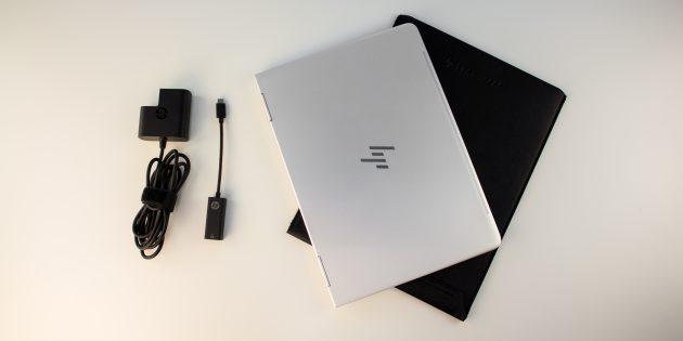 HP Spectre x360: адаптер