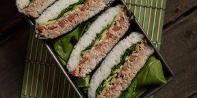 Как приготовить суши-сэндвич онигиразу