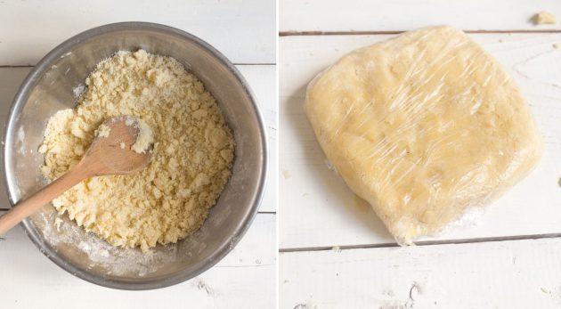 Песочная галета с ягодами и фруктами: оберните тесто плёнкой и отправьте вхолодильник начас