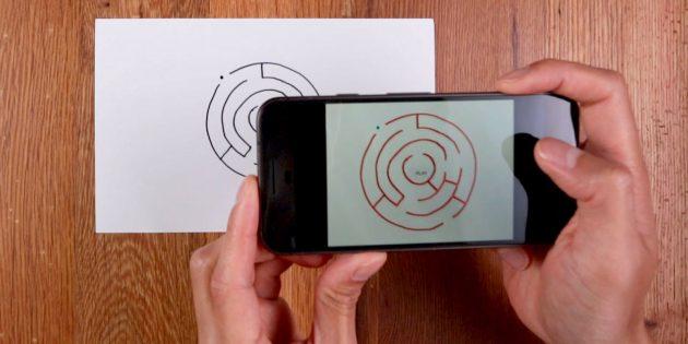 Form 'N' Fun — игра для Android с нарисованными от руки лабиринтами