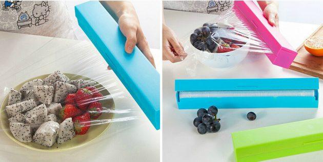 Контейнер для пищевой плёнки или фольги