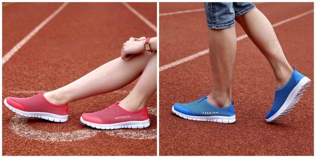 Суперлёгкие мужские и женские кроссовки
