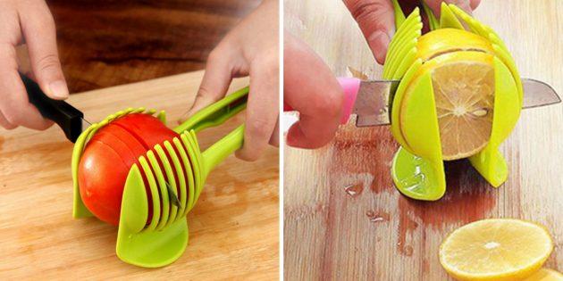 Щипцы для нарезки овощей и фруктов