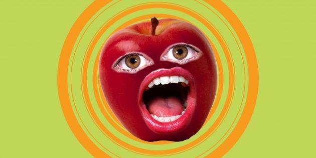 Почему бывает больно есть фрукты и овощи
