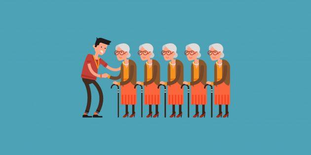 Почему женщины живут дольше мужчин