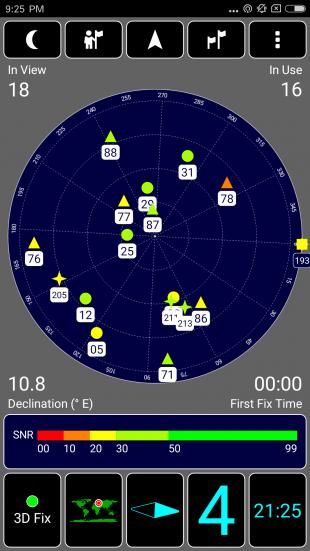 Xiaomi Mi6: навигационный модуль