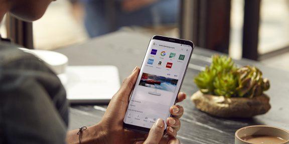 Браузер от Samsung появился в Google Play