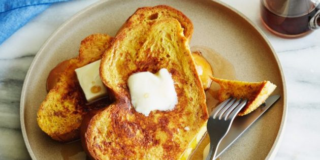 Что приготовить на завтрак: Французские гренки с корицей