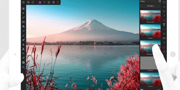 Affinity Photo для iPad — планшетная замена Photoshop