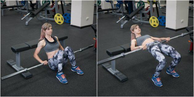 силовой спорт: подъём бёдер