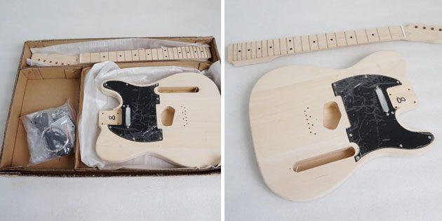 Набор для сборки Stratocaster
