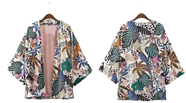 Роскошное кимоно