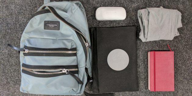 Анна Савина: содержимое сумки