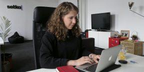 Рабочие места: Анна Савина, главный редактор онлайн-издания Accent