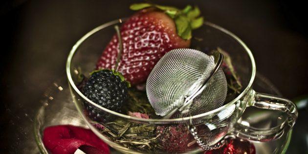 фруктовый чай: ягодный микс