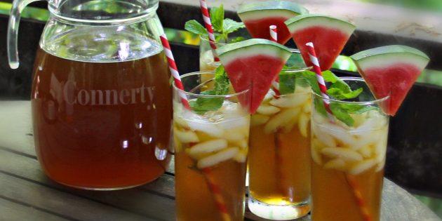 фруктовый чай: арбузный чай