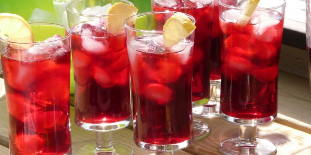фруктовый чай: каркаде