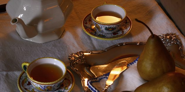 фруктовый чай: грушевый чай с жасмином