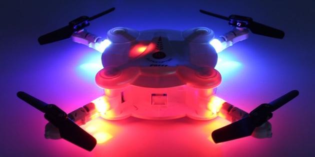 AliExpress для мужика: налобный фонарь, губка для мойки машины и квадрокоптер