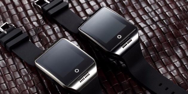Смарт-часы с изогнутым экраном