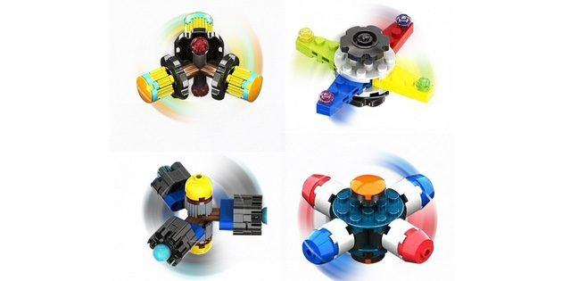 Спиннеры из деталек LEGO