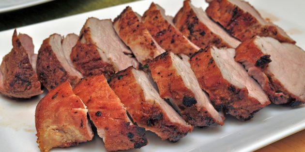 Маринад на кефире для свинины в духовке