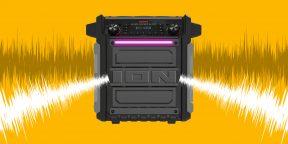 ION Block Rocker Sport — серьёзная аудиосистема для уличных вечеринок