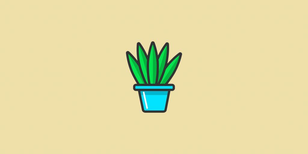 Очень много растений