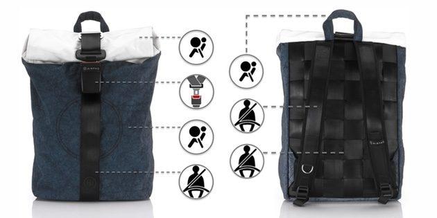 Городской рюкзак Airpaq