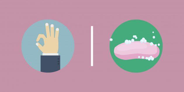 3 мифа о мытье рук, опровергнутых учёными