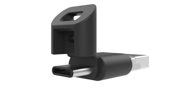 SP Mobile C50 — флешка с тремя разъёмами