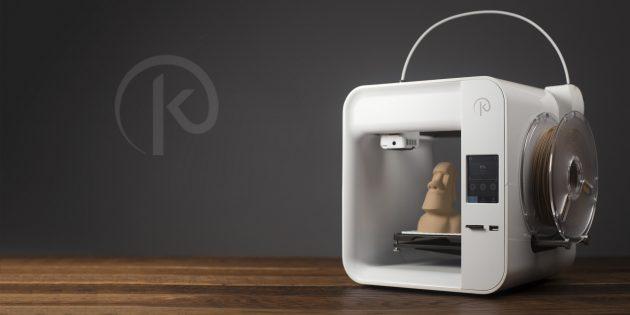Гаджет дня: Obsidian — качественный 3D-принтер за 99 долларов
