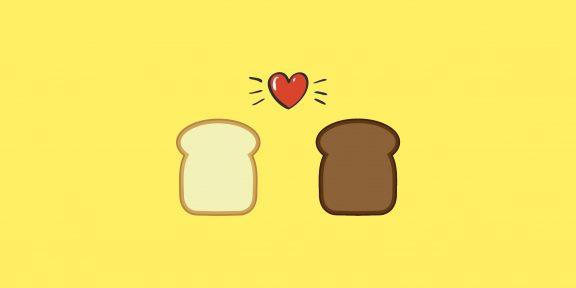 Белый хлеб такой же полезный, как чёрный