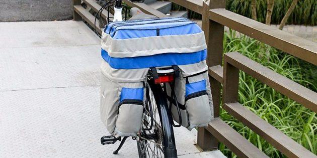«Велоштаны» на багажник