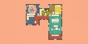 Чтобы уборка не была в тягость, разделите квартиру на несколько зон