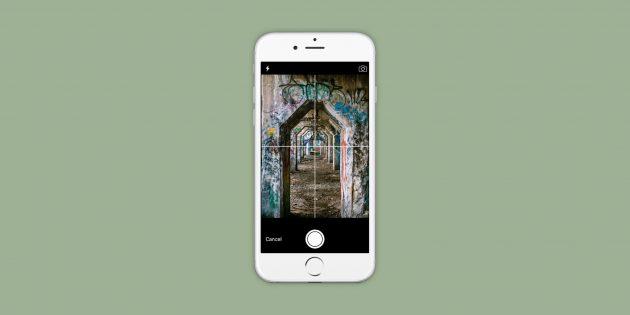 Composition Cam для iOS поможет построить правильную композицию снимка