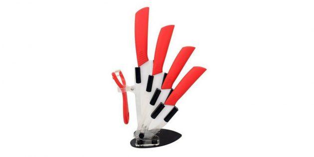 Набор керамических кухонных ножей