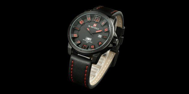 Мужские водонепроницаемые кварцевые часы