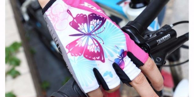 Велоперчатки для девушек