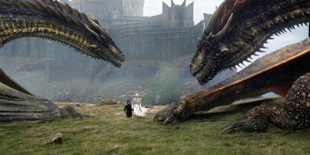 «Игра престолов»: драконы