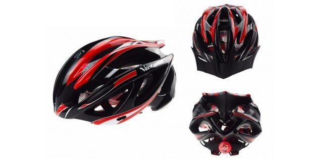 Шлем с фонариком